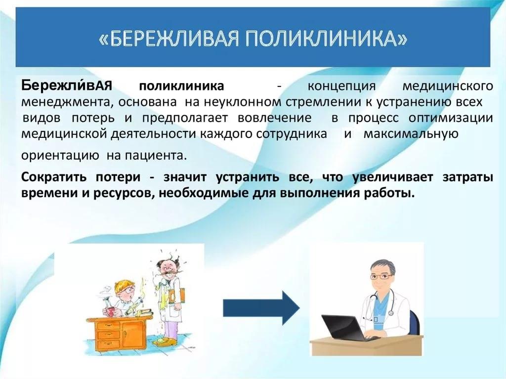 Евгения Феофилактова бережливая поликлиника в поликлинике компания набирает партнёров